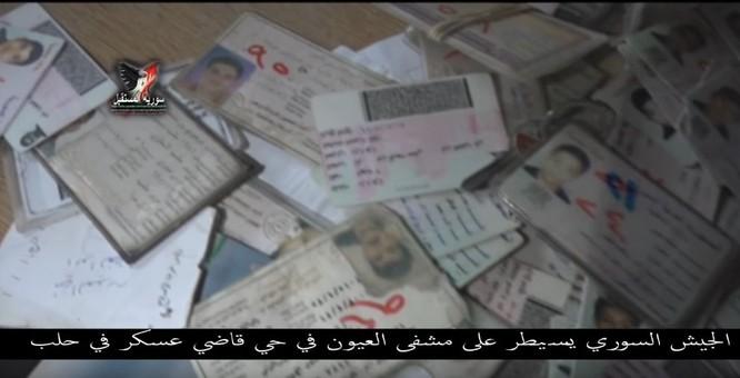 Chiến sự Aleppo: Phiến quân biến bệnh viện thành sở chỉ huy, kho vũ khí và nhà tù (video) ảnh 15
