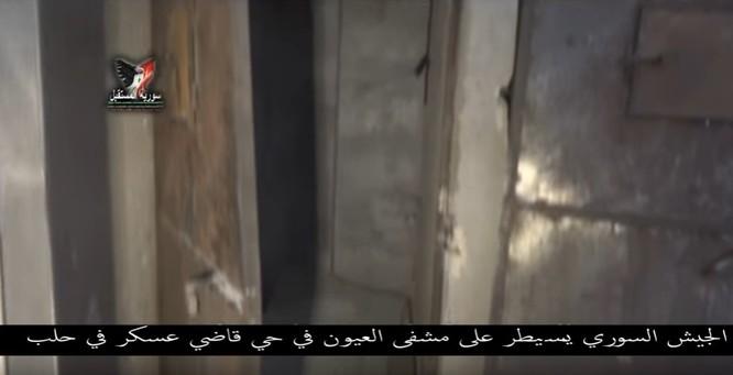 Chiến sự Aleppo: Phiến quân biến bệnh viện thành sở chỉ huy, kho vũ khí và nhà tù (video) ảnh 18