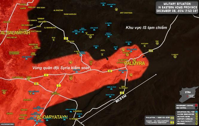 Quân đội Syria đập tan cuộc tấn công của IS vào thành cổ Palmyra ảnh 1