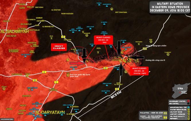 Quân đội Syria vỡ trận trước IS tại Palmyra vì đâu ảnh 1