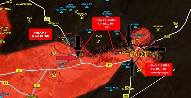 Quân đội Syria thất bại, IS bất ngờ chiếm phần lớn Palmyra ảnh 1