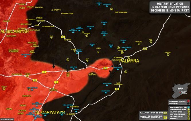 """Quân đội Syria khủng hoảng, IS tung kế """"vây Ngụy cứu Triệu"""" ảnh 1"""