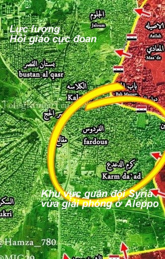 Chiến sự Aleppo: Quân đội Syria dồn phiến quân vào tử địa (video) ảnh 1