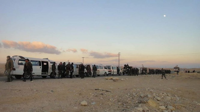 Quân đội Syria dồn binh lực, chuẩn bị phản kích tái chiếm Palmyra ảnh 1