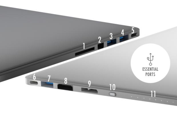 Line Dock: Thiết bị dự phòng đa dụng cho laptop (video) ảnh 7