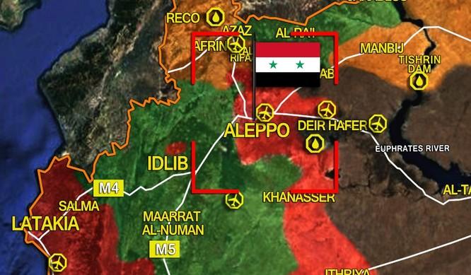 Trận chiến Aleppo: Phiến quân thánh chiến trở mặt tấn công quân đội Syria ảnh 1