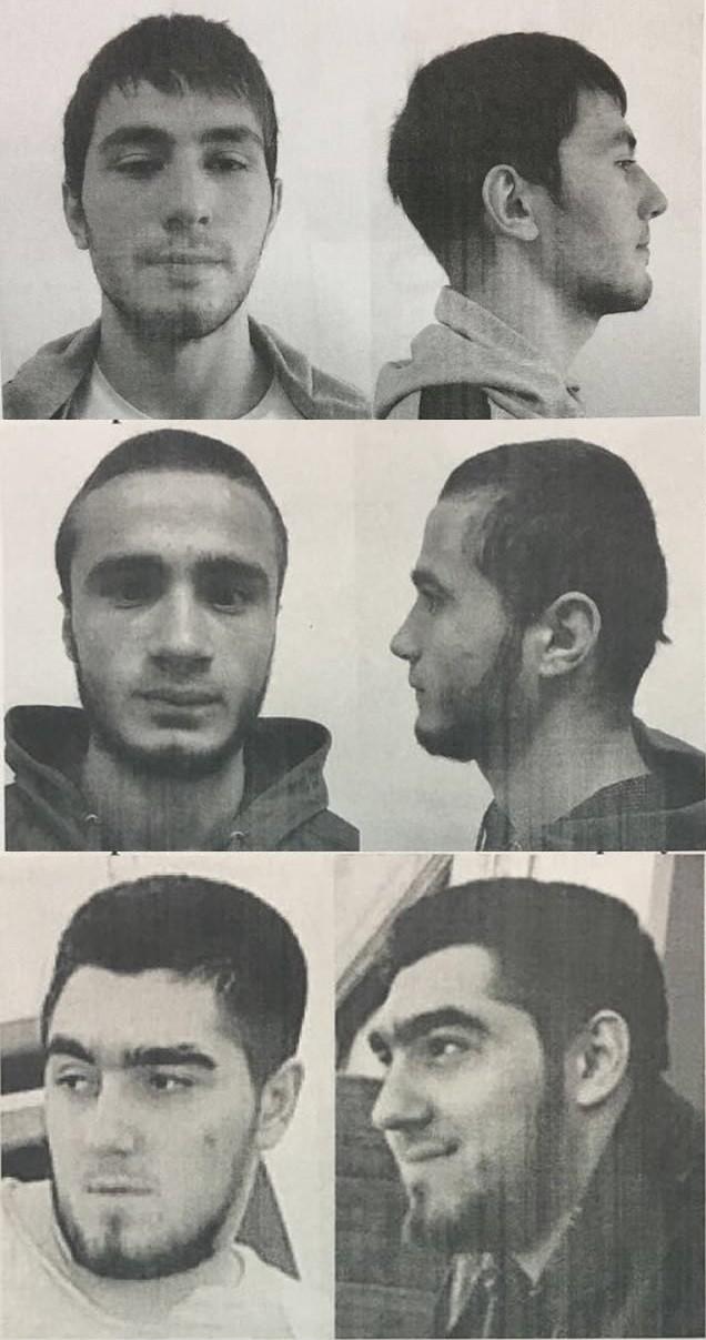 Ba tên cướp sống sót trốn khỏi hiện trường đang bị truy nã