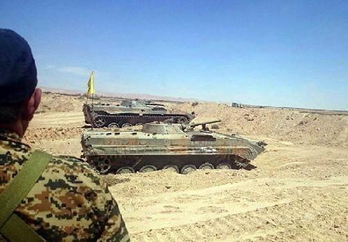 Trận chiến Palmyra: Quân đội Syria phản công, Hezbollah tăng binh lực chống IS ảnh 2
