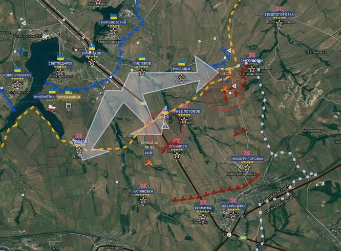 Chiến sự Ukraine: Hàng trăm lính Kiev chết, bị thương tại chảo lửa Debaltsevo (video) ảnh 1