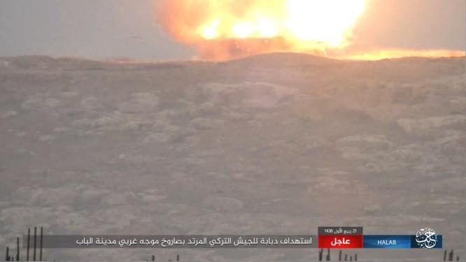 Quân Thổ Nhĩ Kỳ thảm bại trước IS trong trận chiến al-Bab, Aleppo (video) ảnh 2