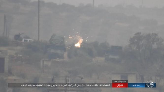 Quân Thổ Nhĩ Kỳ thảm bại trước IS trong trận chiến al-Bab, Aleppo (video) ảnh 3