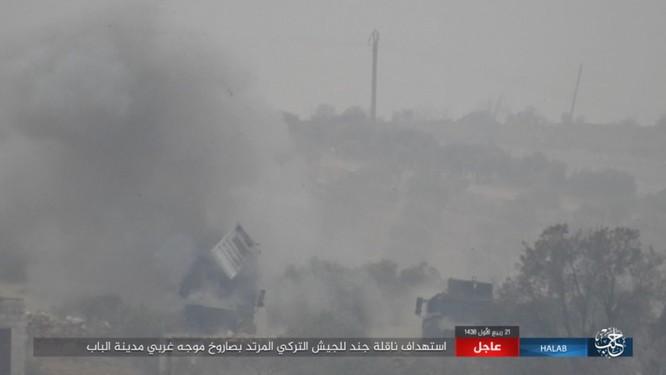Quân Thổ Nhĩ Kỳ thảm bại trước IS trong trận chiến al-Bab, Aleppo (video) ảnh 5