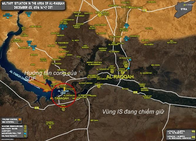 Chiến sự Syria: Người Kurd chiếm hơn 50 làng, tiến sát thành trì IS ảnh 2