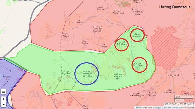 Chiến sự Syria: Phiến quân đầu hàng, giao nộp 3 làng trên cao nguyên Golan ảnh 1