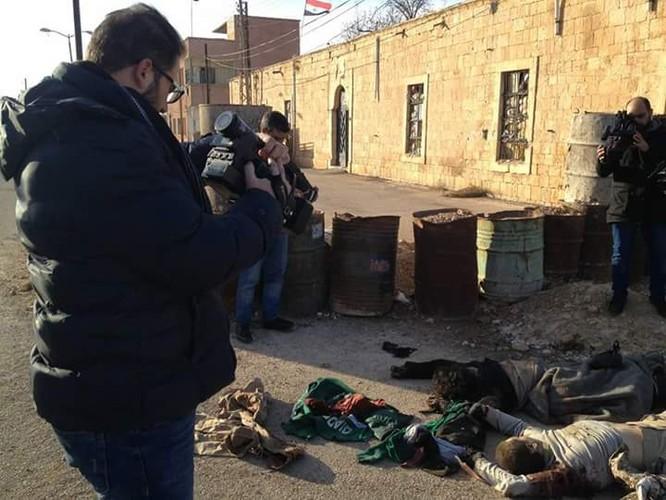 """Nga-Syria """"song kiếm hợp bích"""", hàng chục tay súng IS tiêu ma (video) ảnh 2"""