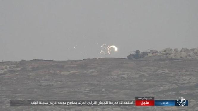 IS thiện chiến đánh quân Thổ tan tác, xe tăng Đức mất uy trên chiến địa (video) ảnh 6