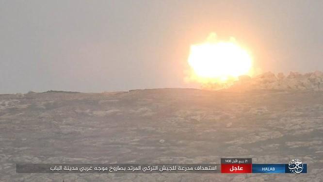 IS thiện chiến đánh quân Thổ tan tác, xe tăng Đức mất uy trên chiến địa (video) ảnh 7