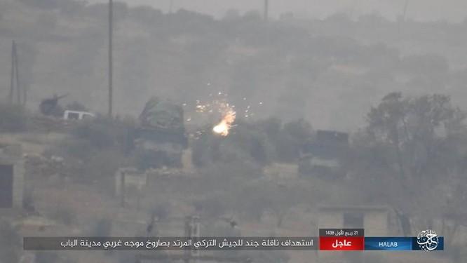 IS thiện chiến đánh quân Thổ tan tác, xe tăng Đức mất uy trên chiến địa (video) ảnh 8