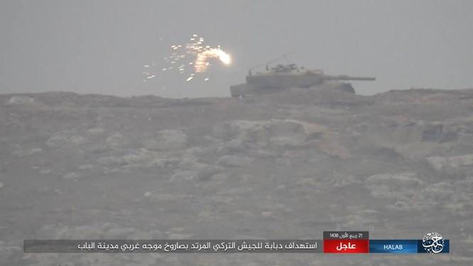 IS thiện chiến đánh quân Thổ tan tác, xe tăng Đức mất uy trên chiến địa (video) ảnh 10