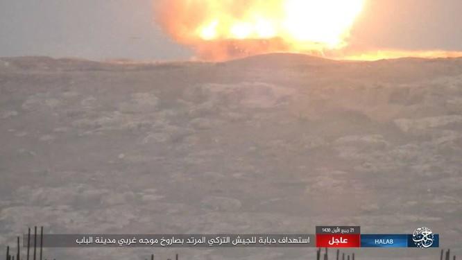 IS thiện chiến đánh quân Thổ tan tác, xe tăng Đức mất uy trên chiến địa (video) ảnh 11