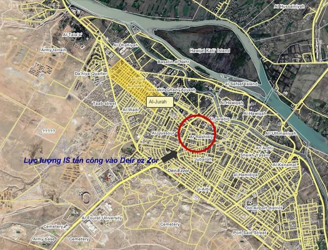 Quân đội Syria diệt 20 tay súng IS trên chiến trường Deir ez Zor, đánh trinh sát hỏa lực khủng bố ảnh 1