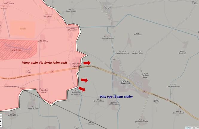 Trận chiến Aleppo: Quân đội Syria tiêu diệt hàng loạt chiến binh IS (video) ảnh 1
