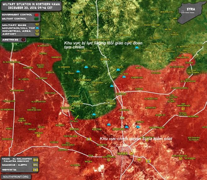 60.000 phiến quân Syria ngừng bắn, quân chính phủ quyết chiếm nguồn sống Damascus ảnh 1