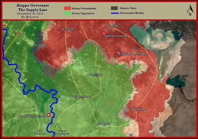 Đại thắng Aleppo, quân đội Syria càn quét tiếp mục tiêu nào ảnh 5
