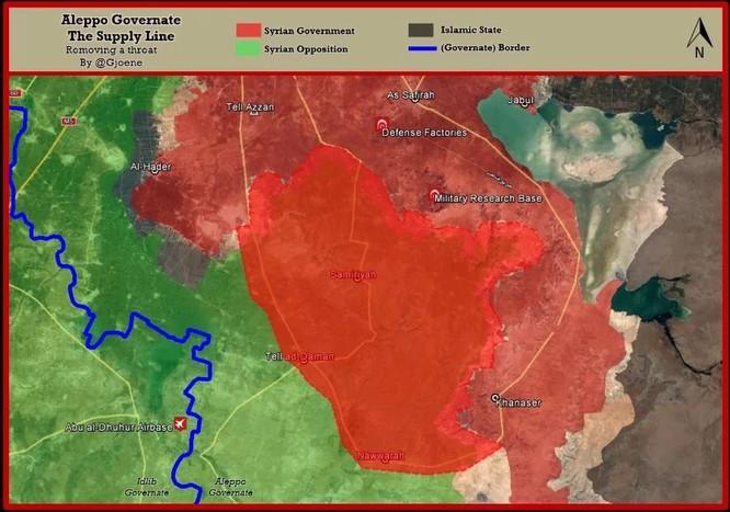 Đại thắng Aleppo, quân đội Syria càn quét tiếp mục tiêu nào ảnh 7