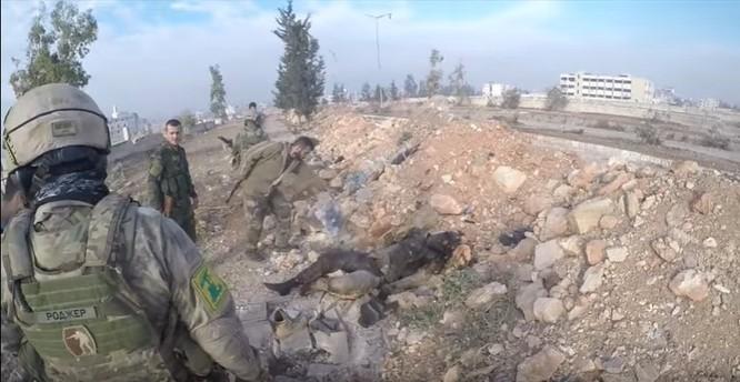Trận chiến Aleppo: Đặc nhiệm Nga xung trận cùng binh sĩ Hezbollah (video) ảnh 2