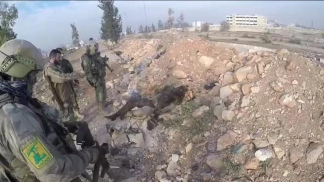 Trận chiến Aleppo: Đặc nhiệm Nga xung trận cùng binh sĩ Hezbollah (video) ảnh 4