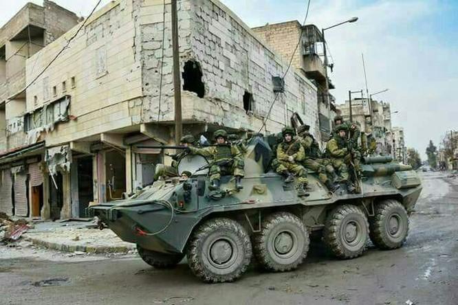"""Trận chiến Aleppo: Quân đội Nga xua đuổi """"thần chết"""" (video) ảnh 3"""