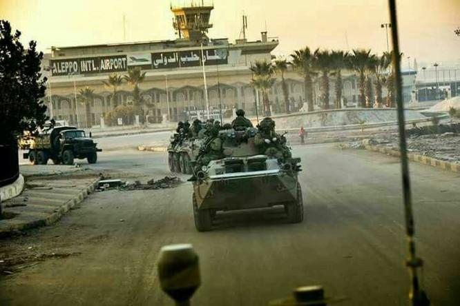 """Trận chiến Aleppo: Quân đội Nga xua đuổi """"thần chết"""" (video) ảnh 4"""