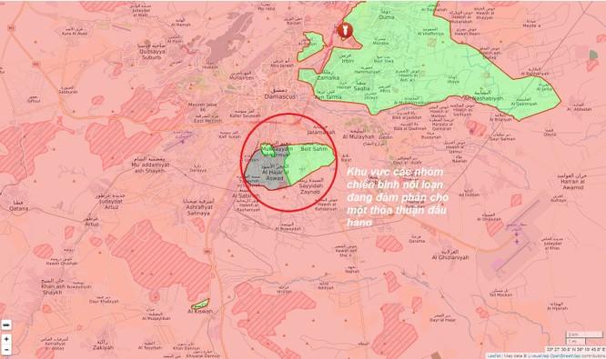 Phiến quân Syria muốn hạ súng đầu hàng, giao nộp 4 thị trấn ngoại ô Damascus ảnh 1