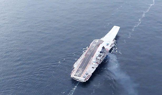 Chiến cuộc Syria: Nga tự tin rút tàu sân bay, bớt binh lực ảnh 1