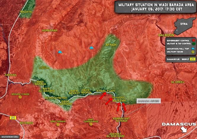 Chiến sự Syria: Phiến quân thánh chiến ngoại ô Damascus ký thỏa thuận đầu hàng ảnh 1