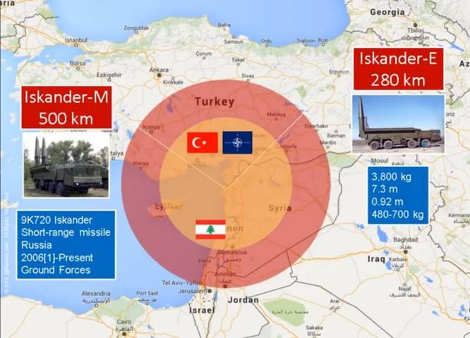 """Chiến sự Syria: Vệ tinh phát hiện Nga triển khai """"hung thần"""" Iskander ảnh 2"""