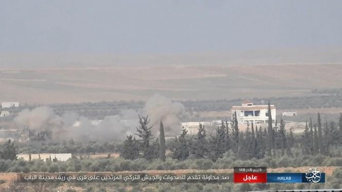 Không quân Nga tấn công dữ dội IS. yểm trợ Thổ Nhĩ Kỳ ở nam Aleppo ảnh 2
