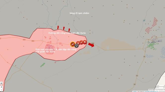 Quân đội Syria mở rộng tấn công trên sa mạc thành cổ Palmyra ảnh 1