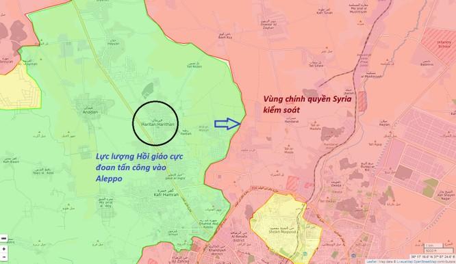 Trận chiến Aleppo: Quân đội Syria đập tan cuộc tấn công, diệt hàng chục phiến quân ảnh 1
