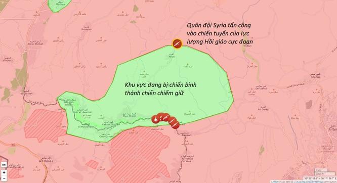 Quân đội Syria tấn công dữ dội phiến quân trấn giữ nguồn nước Damascus (video) ảnh 1
