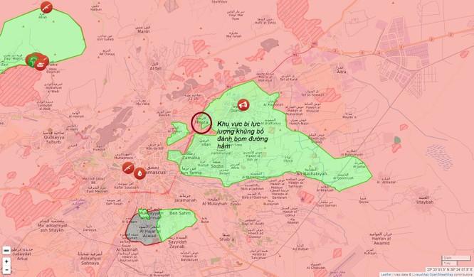 Phiến quân đánh bom đường hầm, tướng Syria thiệt mạng ảnh 2