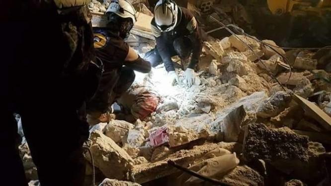 Gần 60 phiến quân Syria bị không quân Mỹ tiêu diệt ảnh 1