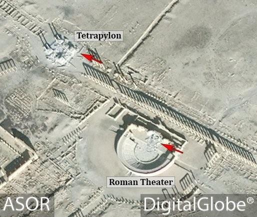 Kinh hoàng IS phá hủy nhà hát La Mã cổ đại ở Palmyra ảnh 1
