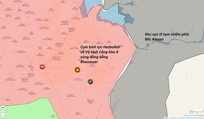 Quân đội Syria tập trung cụm binh lực lớn tấn công IS ảnh 2