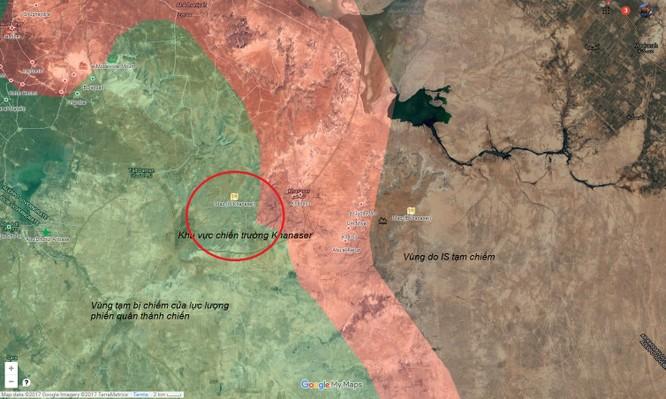 Quân đội Syria mở rộng tấn công phiến quân ngoại vi Aleppo (video) ảnh 1