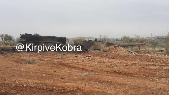 """IS """"hạ nhục"""" xe tăng Đức, Thổ mất 10 Leopard 2А4 ở chiến trường Syria ảnh 7"""