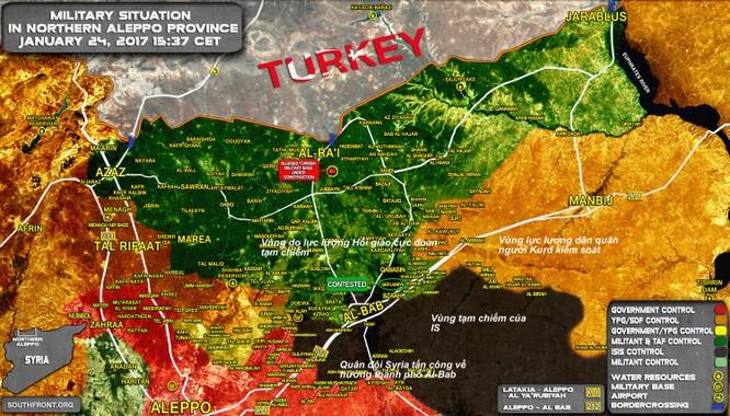 Quân đội Syria đẩy mạnh cuộc tấn công trên hướng thành phố Al-Bab, Aleppo ảnh 5