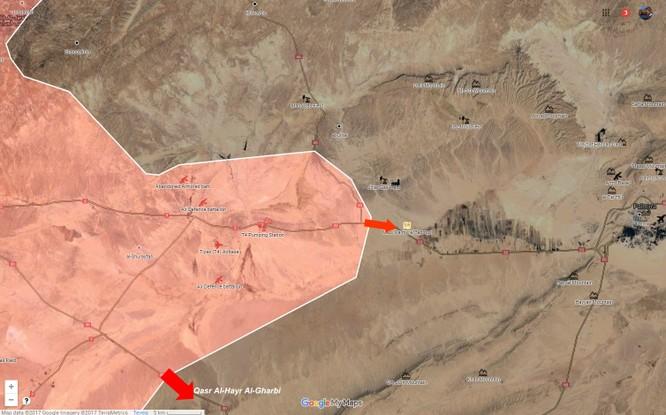 Quân đội Syria đánh chiếm thêm 1 làng trên vùng sa mạc Palmyra - VIDEO ảnh 1