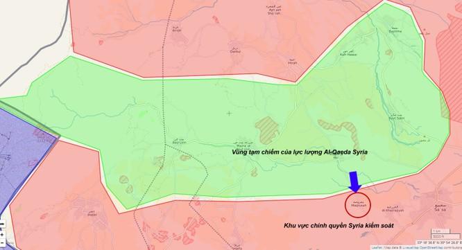 Khu vực chiến sự trên cao nguyên Golan, quân đội Syria bẻ gãy cuộc tấn công vào thị trấn